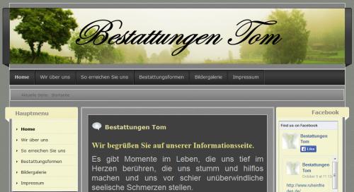 Firmenprofil von: Bestattungen Tom: Bestattungsinstitut in Weingarten