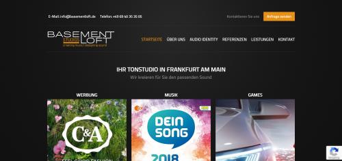 Firmenprofil von: Ihr Tonstudio in Frankfurt: Passender Sound für Ihre Marke