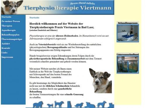 Firmenprofil von: Tierphysiotherapie Viertmann in Osnabrück