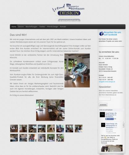 Firmenprofil von: trend Design – Die Werbeagentur in Bornhausen