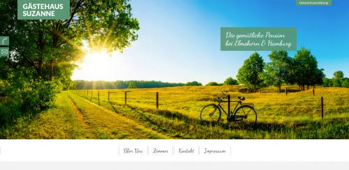 Firmenprofil von: Preiswerte Übernachtungen in Elmshorn: Gästehaus Suzanne