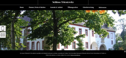 Firmenprofil von: Das Schloss Triestewitz in Torgau - ein Ort zum Träumen