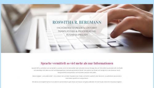 Firmenprofil von: Professionelle Übersetzungen von Roswitha Bergmann in Ottobrunn