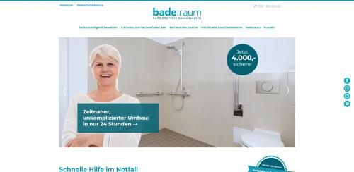 Firmenprofil von: Zuverlässiger Umbau Ihres Bads mit bade:raum