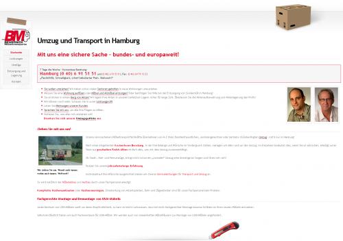 Firmenprofil von: BM Bewernick Möbeltransporte in Hamburg