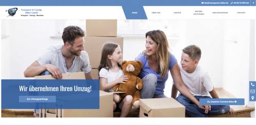 Firmenprofil von: Ein starker Partner: Transporte und Umzüge Miller in München