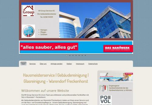 Firmenprofil von: Die Unterhaltsreinigung aus Warendorf-Freckenhorst für beste Ergebnisse – M1-Group Services KG Gebäudedienste