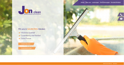 Firmenprofil von: Jon clean – Unterhaltsreinigung in Freising