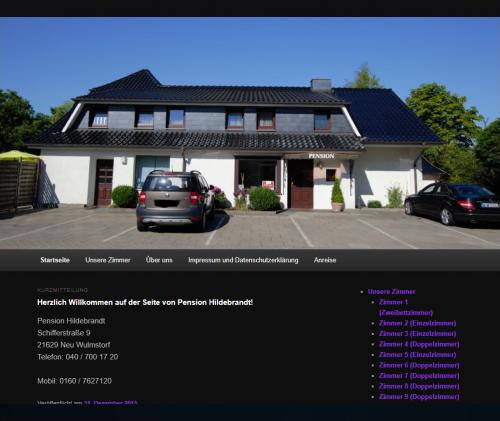 Firmenprofil von: Pension Hildebrandt: Gemütliche Ferienzimmer nahe Hamburg
