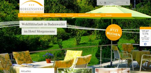 Firmenprofil von: Einfach mal abschalten im Hotel Morgensonne in Badenweiler