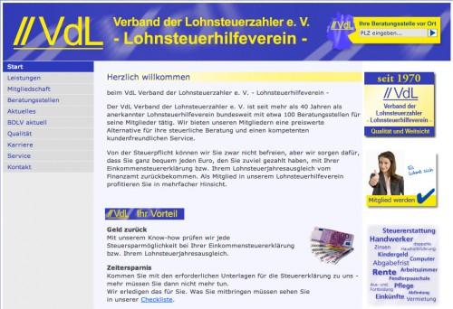 Firmenprofil von: Verband der Lohnsteuerzahler e.V. in Bonn