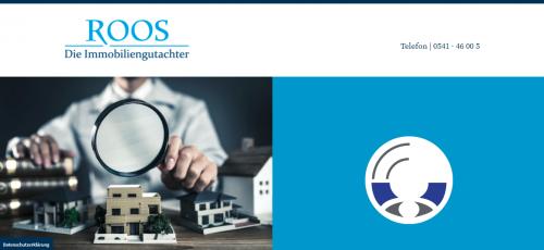 Firmenprofil von: Verkehrswertgutachten mit den Profis von Roos Die Immobiliengutachter in Osnabrück