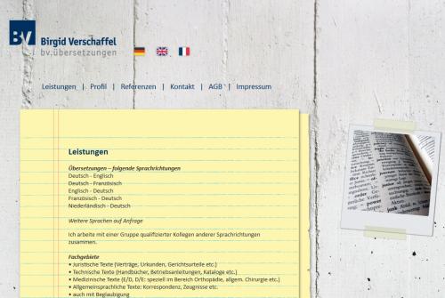 Firmenprofil von: Übersetzungen in Soest