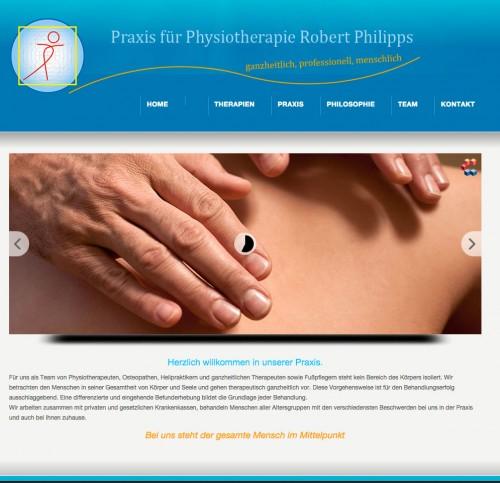 Firmenprofil von: Physiotherapie in Karlsruhe: Praxis für Physiotherapie Philipps
