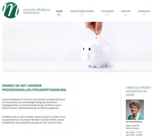 Firmenprofil von: Steuerberaterin Cornelia Malkmus in Konstanz