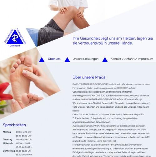 Firmenprofil von: Physiotherapie in Düsseldorf: Physiotherapie Derendorf Frau Stavinski