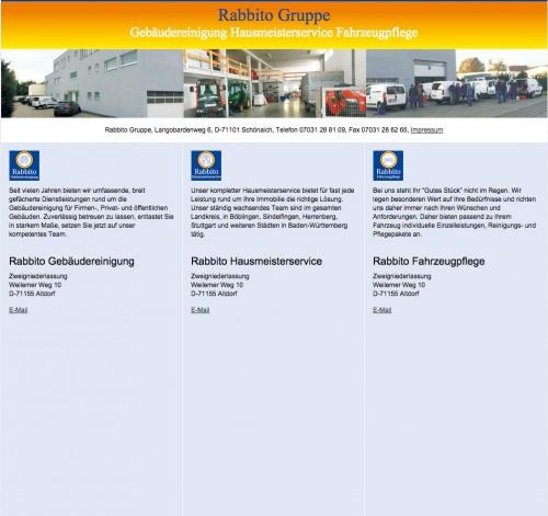 Firmenprofil von: Gebäudereinigung in Böblingen: Rabbito Hausmeister- und Gebäudeservice