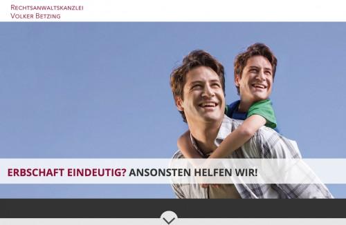 Firmenprofil von: Anwaltskanzlei Volker Betzing – Rechtsanwalt für Erbrecht in Bonn