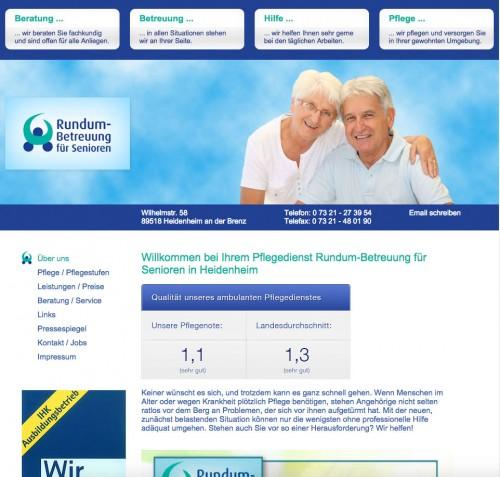 Firmenprofil von: Unterstützung im Alltag: Rundum-Betreuung für Senioren in Heidenheim an der Brenz