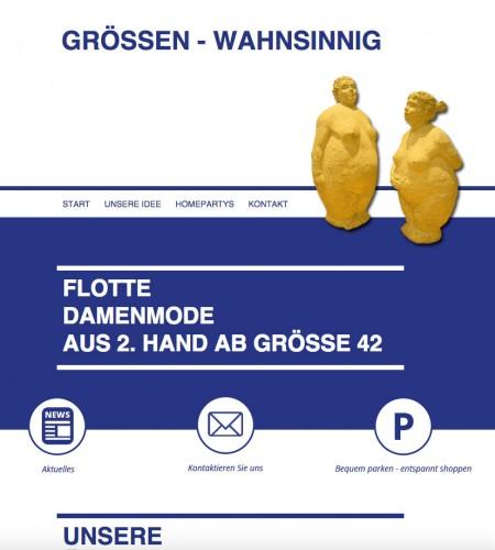 Firmenprofil von: Grössen-Wahnsinnig Mode in Ulm
