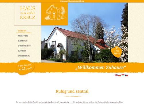 Firmenprofil von: Das Haus zum weißen Kreuz in Hürth: Familiäre Pension mit Charakter