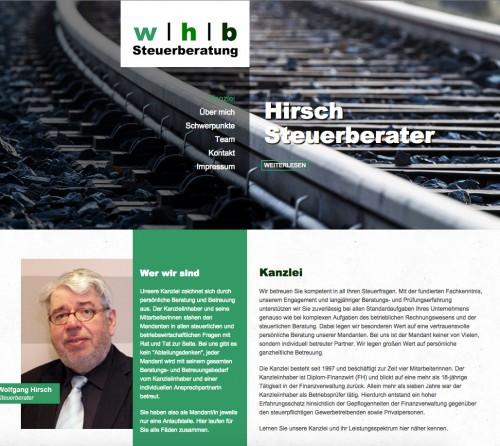 Firmenprofil von: Betriebswirtschaftliche Beratung vom Experten Wolfgang Hirsch in Bremen