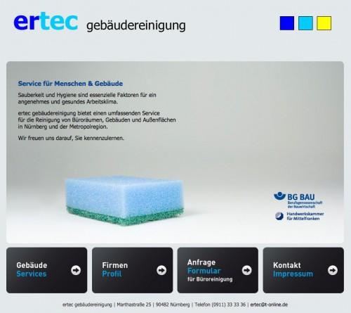 Firmenprofil von: Gebäudereinigung in Nürnberg: ertec Gebäudereinigung GmbH