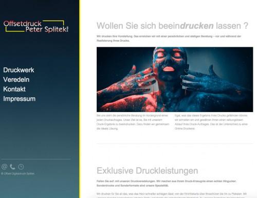 Firmenprofil von: Offset-Druckerei in Dinslaken: Offsetdruck Peter Splitek GmbH