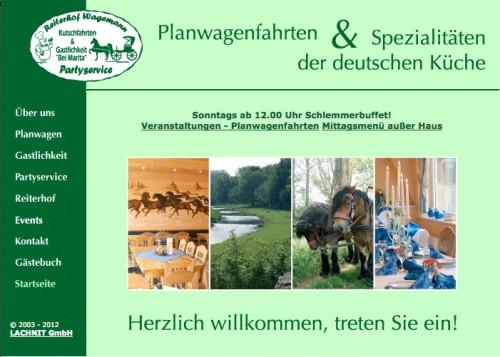 Firmenprofil von: Reiterhof in Warburg: Reiterhof Wagemann