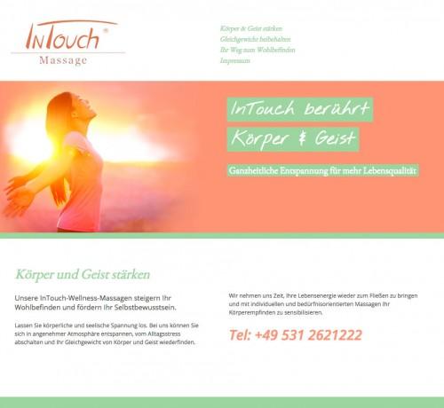 Firmenprofil von: InTouch D. Wetzel in Braunschweig: Wellness-Massagen