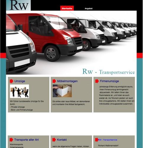 Firmenprofil von: Umzüge in Nienburg: Rw-Transportservice