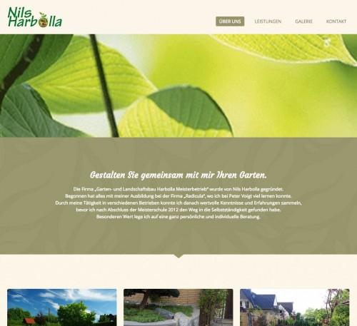 Firmenprofil von: Garten- und Landschaftsbau Nils Harbolla in Osnabrück
