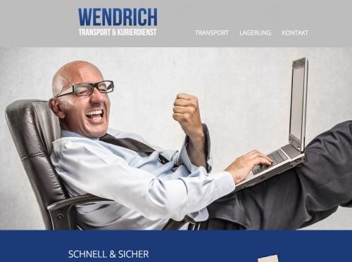 Firmenprofil von: Transport und Kurierdienst Wendrich aus Markranstädt