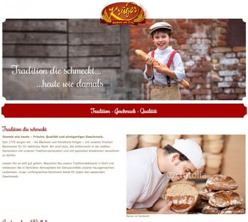 Firmenprofil von: Traditions-Bäckerei und Konditorei Krüger in Suhl
