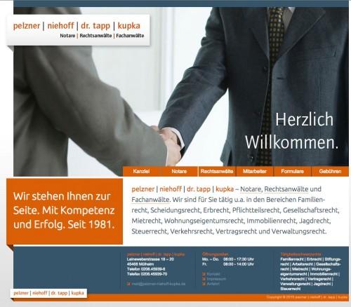 Firmenprofil von: pelzner   niehoff   kupka – Notare, Rechtsanwälte und Fachanwälte in Mülheim