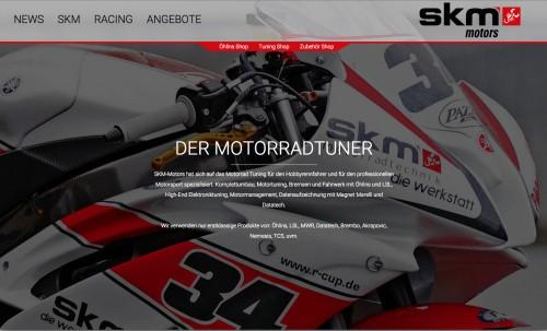 Firmenprofil von: Online-Shop für Motorrad-Tuning in Greven – SKM Motors