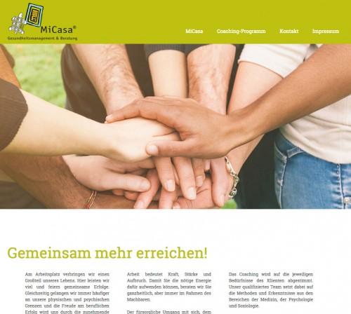 Firmenprofil von: MiCasa® - Gesundheitsmanagement und Beratung in Frankfurt