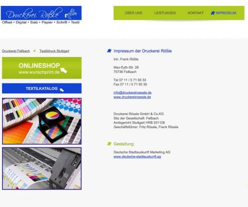 Firmenprofil von: Bezaubernde Hochzeitskarten in Fellbach – Druckerei Rößle