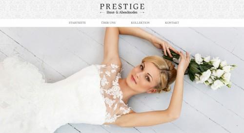 Firmenprofil von: Brautmode in NRW: Prestige Braut- & Abendmoden