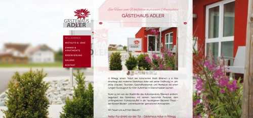 Firmenprofil von: Gästehaus Adler Kohler GbR in Biberach – mitten in Schwaben