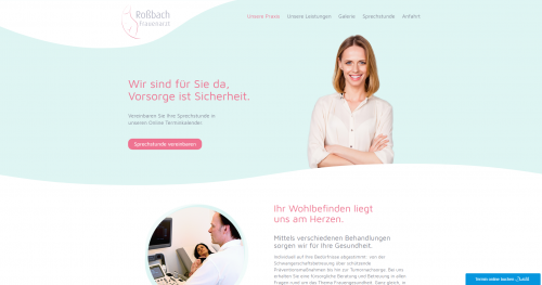 Firmenprofil von: Chlamydienuntersuchung bei Frauenarzt Roßbach in Düsseldorf
