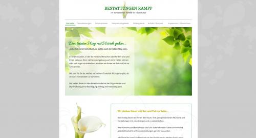 Firmenprofil von: Bestattungsinstitut Rampp in Viernheim