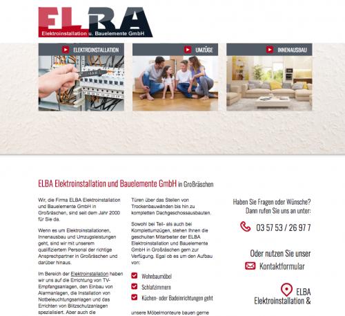 Firmenprofil von: Elba Elektroinstallationen aus Großräschen in Südbrandenburg