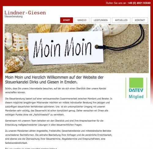 Firmenprofil von: Steuerberater in Emden: Steuerkanzlei Lindner-Giesen