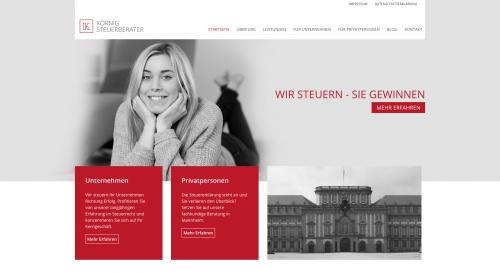 Firmenprofil von: Professionelle Existenzgründungsberatung – Steuerberater Körnig in Mannheim