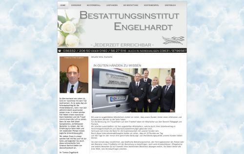 Firmenprofil von: Bestattungsinstitut Engelhardt in Nordhausen
