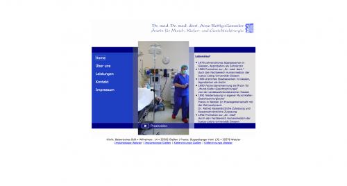 Firmenprofil von: Kieferchirurgie durch Dr. med. Dr. med. dent. Anne Rettig-Gammler in Wetzlar