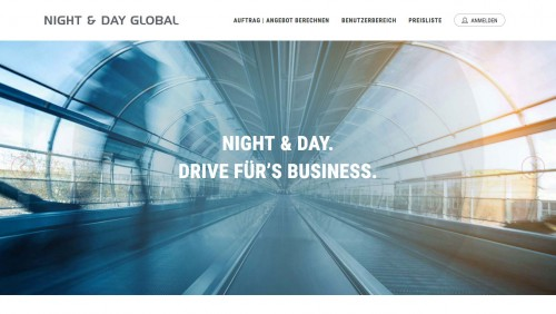Firmenprofil von: Night & Day Global Courier Logistic GmbH