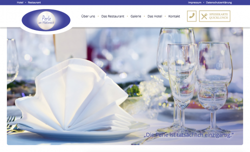 """Firmenprofil von: Hotel mit Restaurant in Hagenow: """"Perle am Mühlenbach"""""""