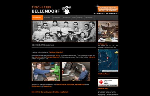 Firmenprofil von: Schreinerei und Tischlerei Bellendorf in Bottrop - Kirchhellen